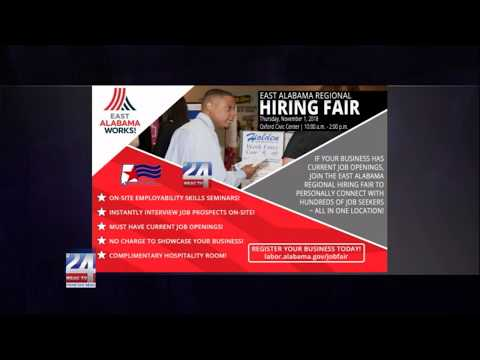 Fall Employment Fair at Gadsden State Community College Ayers Campus