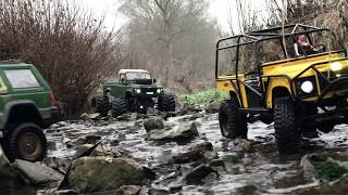 Land Rover Rc4wd With Lara Croft 😊 New Zealand Landy Rock Crawler For Children!