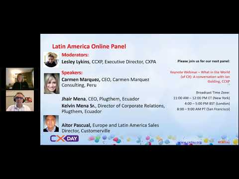 2017 CX Day  Latin American Panel - CX Trends