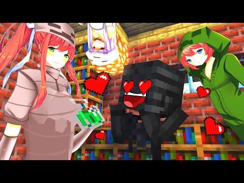Monster School: Brewing Anime Girls - Minecraft Animation