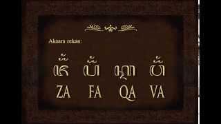 Mengenal Aksara Jawa Mardi Kawi, Introduction of javanese Alphabet
