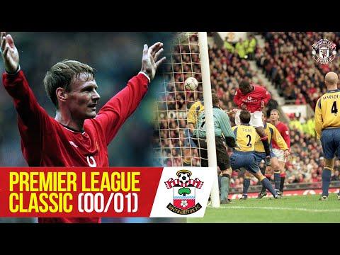 PL Classics   Sheringham hat-trick puts Saints to the sword   Man Utd 5-0 Southampton (00/01)
