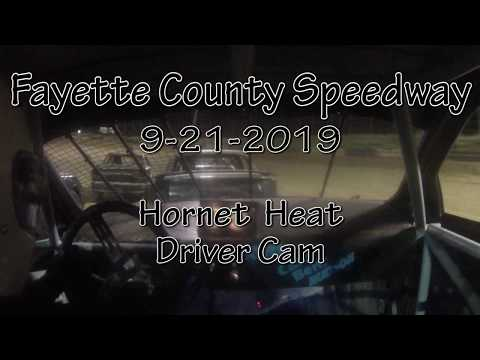 Fayette County Speedway Hornet Heat Driver Cam September 21 2019