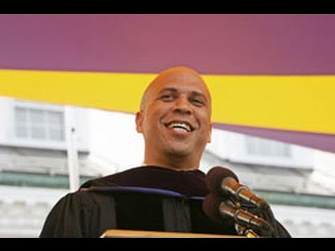 Cory Booker Williams Commencement 2011