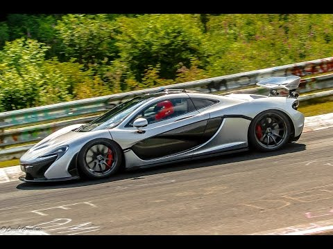 McLaren P1™ Nürburgring Nordschleife in under 7 minutes. Driver: Chris Goodwin