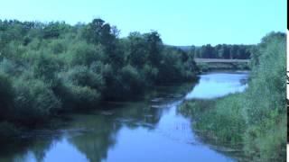 Река Буй. Янаульский район. Вид с моста.7 Видеограф Олег Миронов.  Нефтекамск.