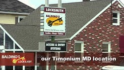 Timonium Lutherville Locksmith |  Baldino's Lock and Key is a locksmith shop in Lutherville Maryland