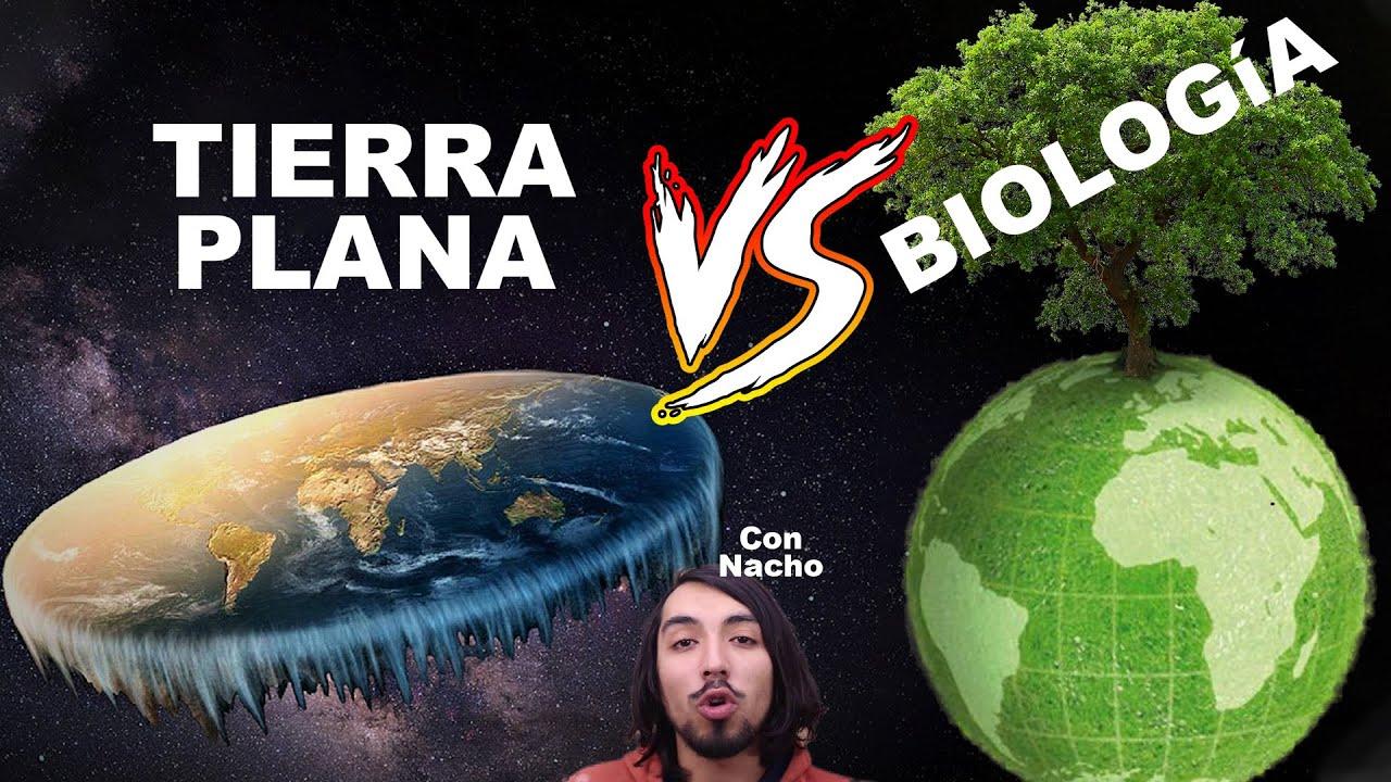 Biología vs Tierra plana | con DimeNacho