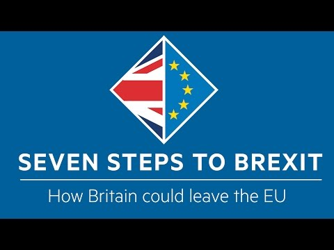 SEVEN STEPS TO BREXIT