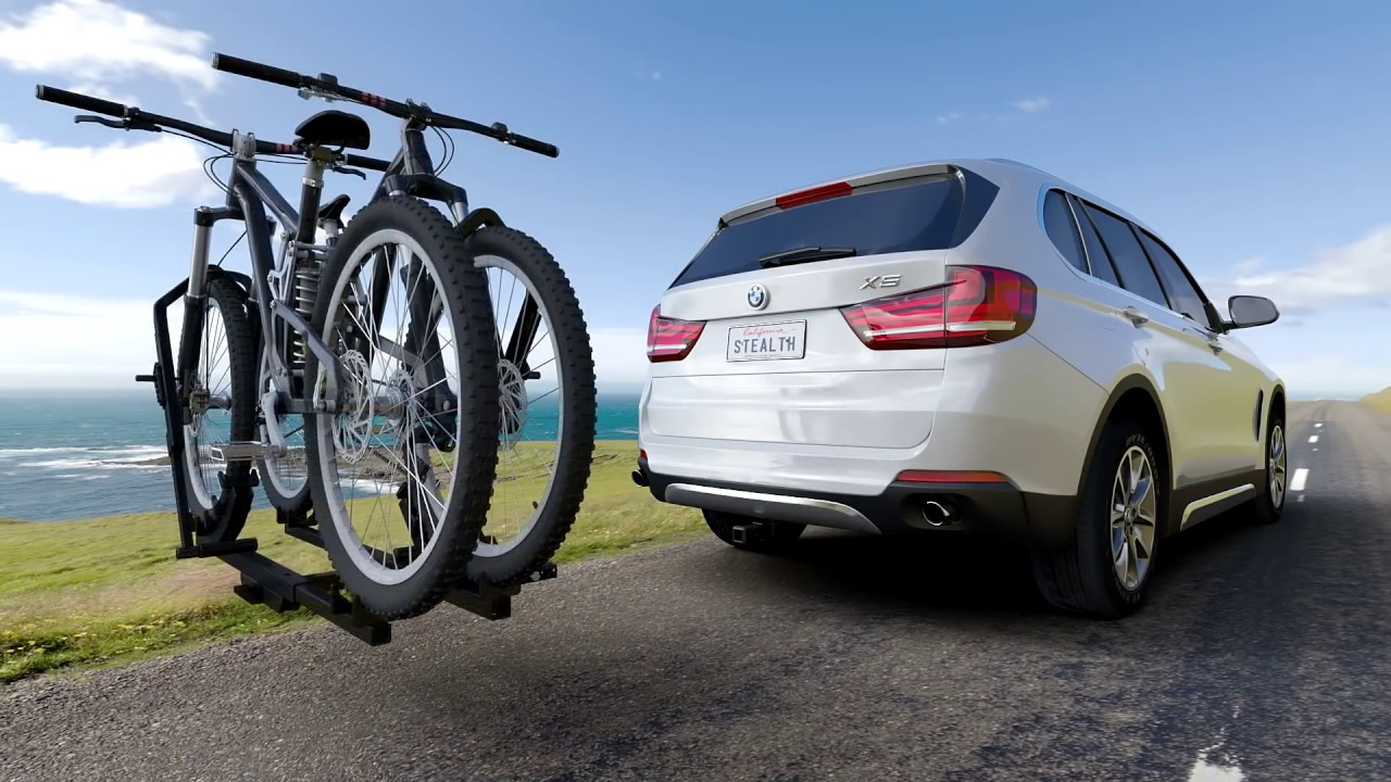 BMW 3 Series Hitch - MADE to be HIDDEN  Tailored trailer