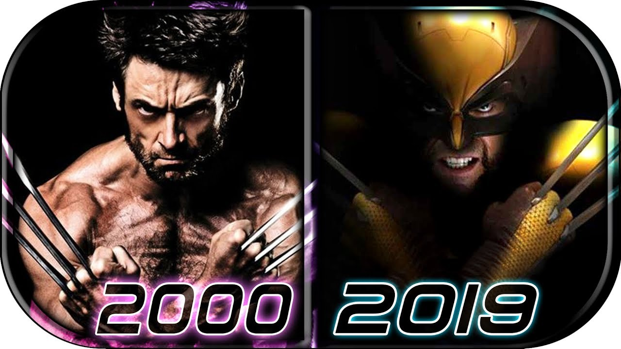 EVOLUTION of WOLVERINE in Movies (2000-2019) AVENGERS ENDGAME Wolverine vs Hulk fight scene trailer