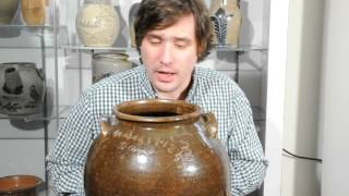 dave the slave drake edgefield sc 1857 signed stoneware jar