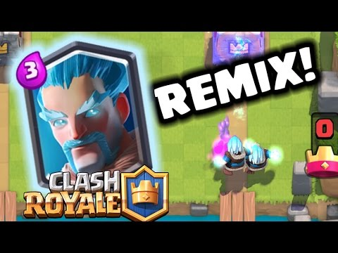 Ice Wizard REMIX! | Clash Royale
