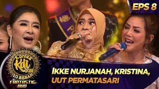 Nyanyi Bareng! Ikke Nurjanah, Kristina, Uut Permatasari [KERETA MALAM] - Kontes KDI Eps 8 (9/9)