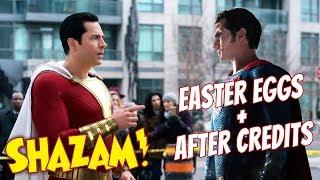 Shazam! - 46+ CHI TIẾT CÓ THỂ BẠN BỎ QUA & GIẢI THÍCH AFTER CREDITS