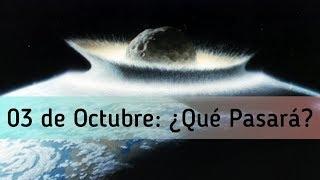 LA VERDAD DEL METEORITO DEL 3 DE OCTUBRE.