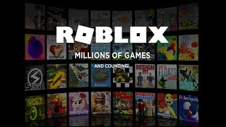 Playing some games on roblox