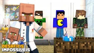 Minecraft: VIAGEM NO TEMPO! (DESAFIOS IMPOSSÍVEIS #1)