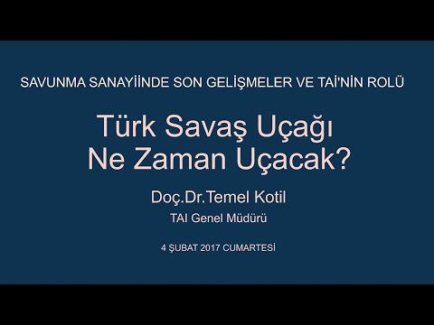 TAI Genel Müdürü Doç. Dr. Temel KOTİL | İstanbul Düşünce Vakfı Konuşması [TFX Ne Zaman Uçacak?]