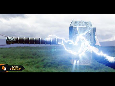 Thor Ragnarok | Thor'un Çekici Parçalanıyor | HD