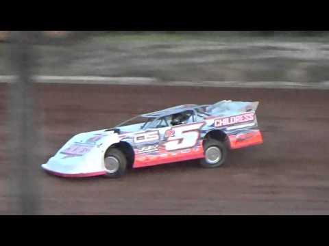 Ark la Tex Speedway Comp Cams Super Dirt Series Hot laps 2 5/7/16