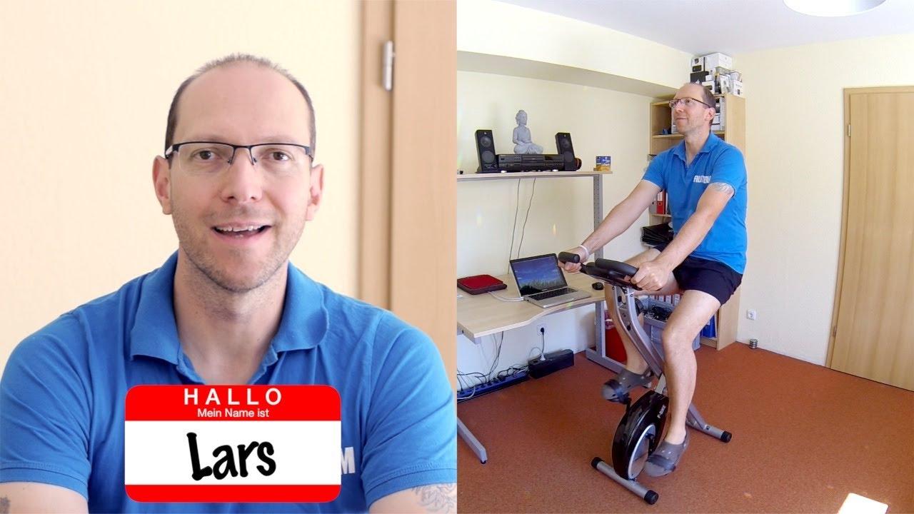 Heimtrainer für Cardio-Workout zum Schwitzen und Entgiften (Radfahren für Vampire) [VEGAN]