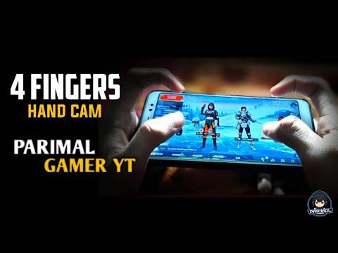 4 FINGERS CLAW | HAND CAM | PUBG MOBILE | PARIMAL GAMER YT...! #parimalgameryt