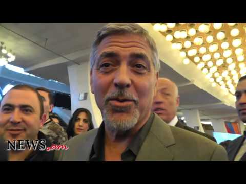 George Clooney about Armenian Genocide