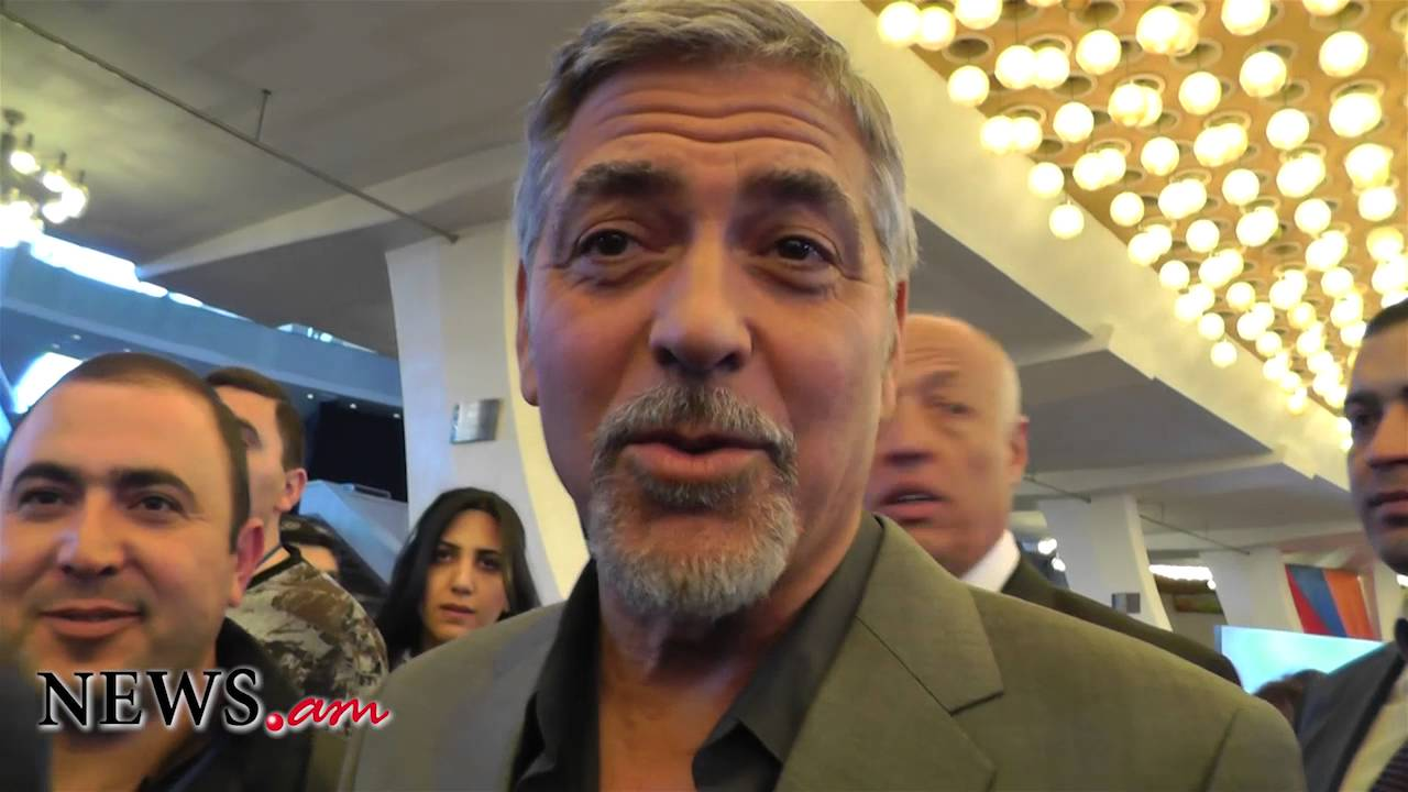 george clooney about armenian genocide youtube