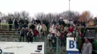 Legia Warszawa supporters in Zamość