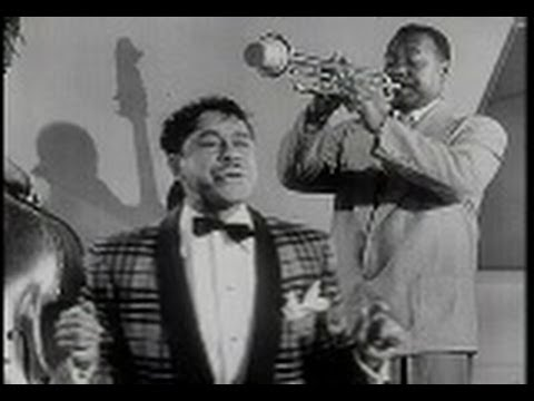 CAB CALLOWAY. Minnie The Moocher. Live 1954 Performance from Rhythm & Blues Revue