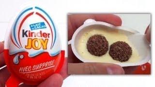 3 Кіндер Джой відкриваємо сюрприз яйця з іграшка