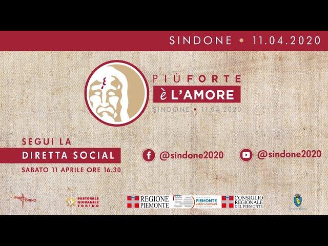 #SINDONE2020 ITA - Diretta streaming della Contemplazione della Sindone di Torino - 11 APRILE 2020