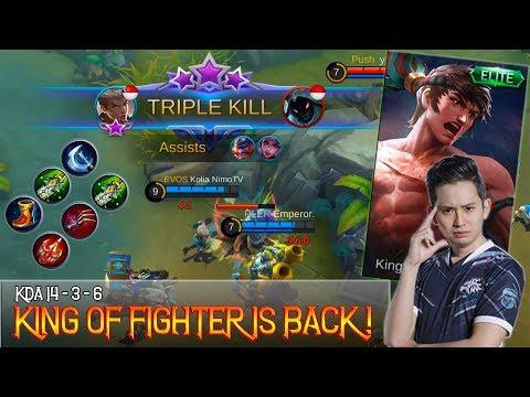 King Fighter Is Back ! ( Chou Build & Gameplay By Kolia ) - Mobile Legends Bang Bang