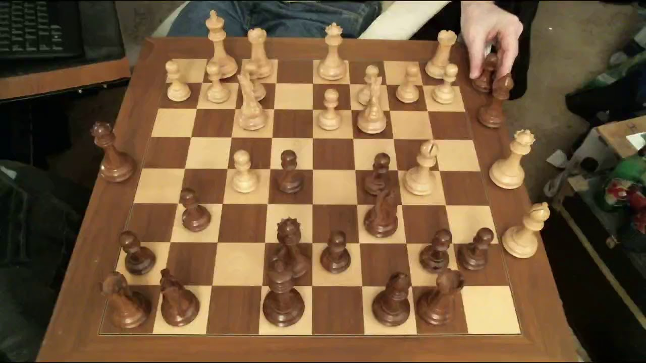 Real Chess board playing chessmaster