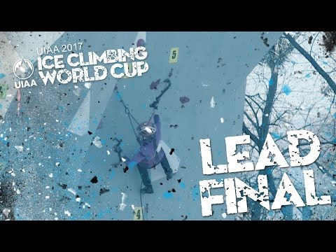 Lead Finals l Ice Climbing World Cup 2017 l Beijing*
