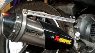 Knalpot Mio M3 , Knalpot Mio GT , Knalpot Akrapovic Knalpot Racing Custom