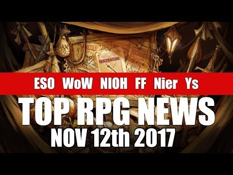 Top RPG News of the Week - Nov 12 2017 (Salt & Sanctuary, Cyberpunk 2077, WoW)