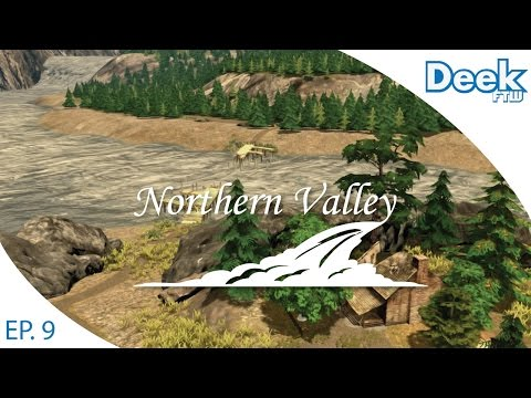 Let's Design Northern Valley Ep.9 - National Park Bike Trail and Abandoned Island - Cities Skylines