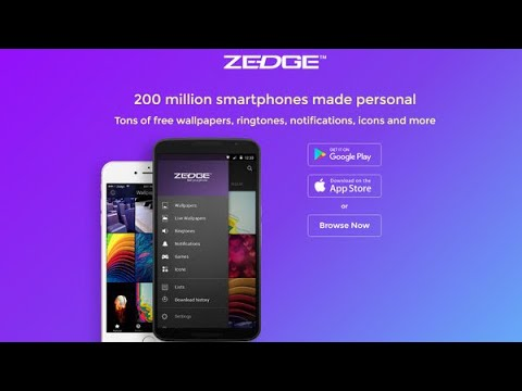 How to use Zedge! Free wallpapers and cool ringtones!