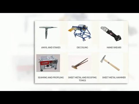 Sheet Metal Tools Canada Calgary | STEETZ COPPER CRAFT LTD | 403-931-2228