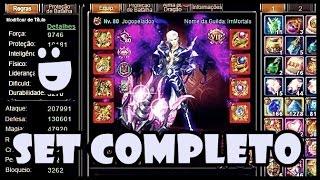 Legend Online: Completando o Set Vermelho