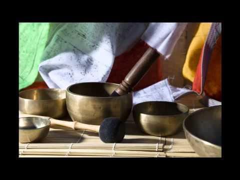 3 Hours Long Tibetan Singing Bowl Meditation Chakra Healing   Tone F# Music   Heart Chakra