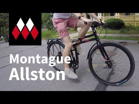 Montague Allston Folding Bike Overview
