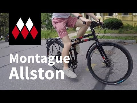 Montague Allston Folding Bike Overview
