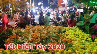 Chợ hoa xuân miền tây năm 2020 ở Vĩnh Long   Miền Tây TV