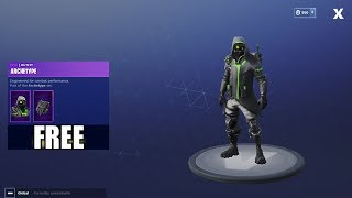 Fortnite Battle Royale - HOW TO GET FREE ARCHETYPE OUTFIT!