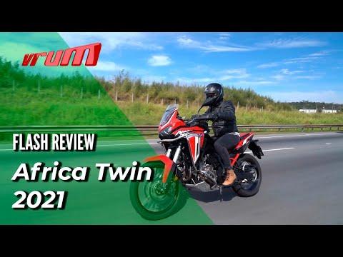 NOVA HONDA AFRICA TWIN 1100L: primeiras impressões do Vrum