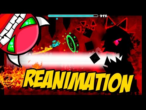GEOMETRY DASH - (Easy Demon) - 41 - Reanimation By Terron - EPIC LEVEL!!