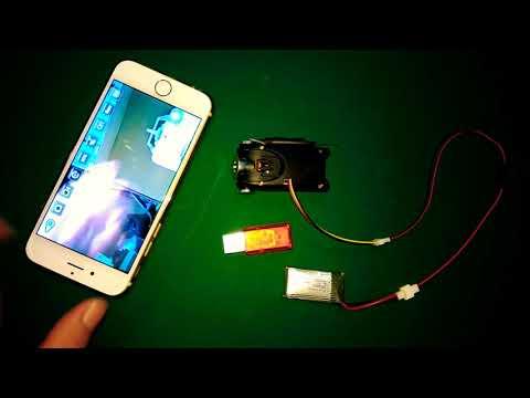 Camera Wifi S5W cấp nguồn trực tiếp lipo 3.7v